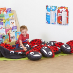 Ladybird Cushion and 15 Baby Ladybird Cushions